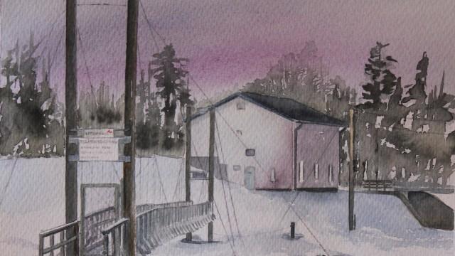 Numera riven hängbro