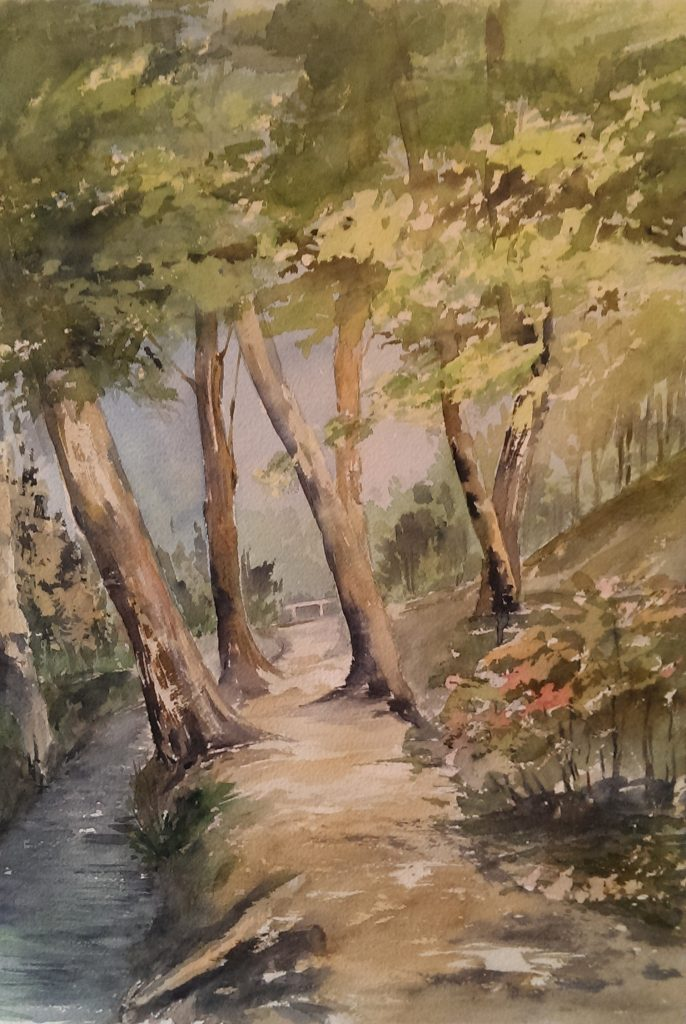 På väg från Alhambra
